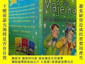 二手書博民逛書店Mr罕見Majeika and the School Caretaker:Majeika先生和學校管理員Y20