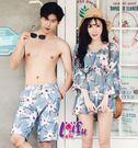 草魚妹- A198泳衣亞曼有袖三件式泳衣情侶泳衣游泳衣泳裝比基尼正品,單女售價1200元