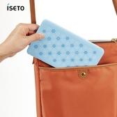 【nicegoods】日本ISETO 隨身口罩收納盒-2入雪花藍