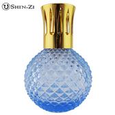 (圓鑽(中)-淺藍) 大玻璃瓶 香薰瓶 薰香瓶 精油瓶