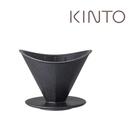 金時代書香咖啡 KINTO OCT 八角陶瓷濾杯 2人 黑色 OCT-28881-BK