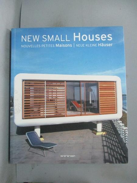【書寶二手書T1/設計_YJT】New Small Houses / Nouvelles Petites Maisons..._Seidel