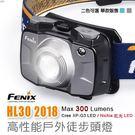 丹大戶外【Fenix】 HL30 2018高性能戶外徒步頭燈