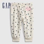 Gap嬰兒 Gap x Disney 迪士尼系列聯名點點長褲 681786-象牙白