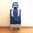 新款菜籃車疊拉桿車購物車行李車小拉車禮品...