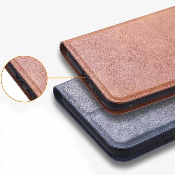 三星 S20 FE 隱形磁扣皮套 手機皮套 掀蓋殼 插卡 支架 皮套 保護套