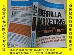 二手書博民逛書店實物拍照;Guerrilla罕見Marketing on the