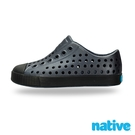 native 小童鞋 JEFFERSON 小奶油頭鞋-夜光黑