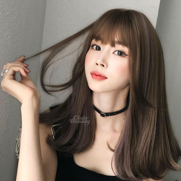 新款女神系假髮 耐熱 時尚微捲 超美中分 假髮【MA555】