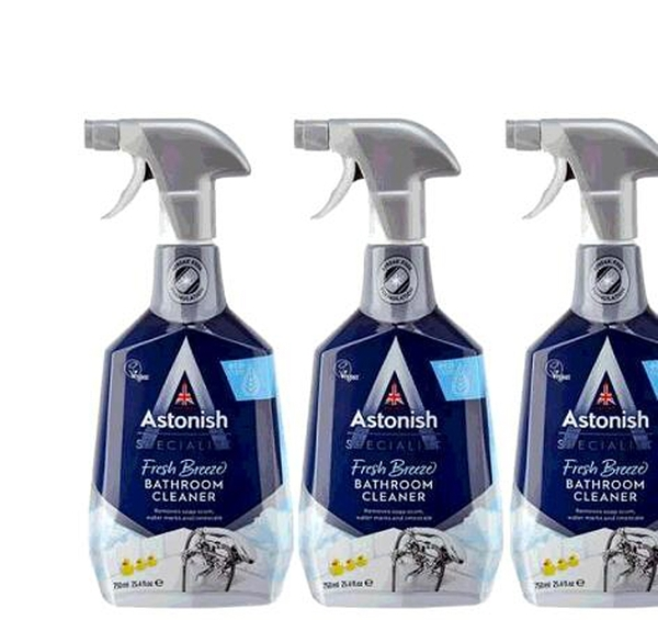 [COSCO代購] W130434 Astonish 英國潔 抑菌除汙浴廁清潔劑 750毫升 X 3入