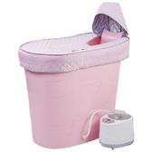 成人泡澡桶家用小戶型 高水位省水橢圓浴桶 塑料洗澡桶 泡澡推薦
