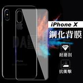 iPhone Xs 後玻璃保護貼 後保護貼 iXs 2.5D 9H鋼化 後保護膜 後玻璃貼 背貼(80-3058)