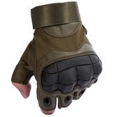 健身手套 戰術半指手套男士夏特種兵格斗拳擊戶外騎行機車摩托運動健身手套 美物居家