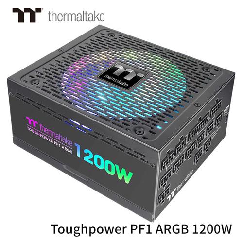 Thermaltake 曜越 Toughpower PF1 ARGB 1200W 80PLUS 白金 全模組 電源供應器 PS-TPD-1200F3FAPx-1