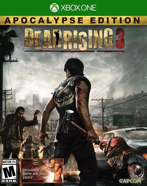 X1 Dead Rising 3: Apocalypse Edition 死亡復甦 3:天啟 (美版代購)