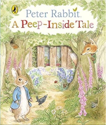 Peter Rabbit:A Peep-Inside Tale 彼得兔採蘿蔔 精裝繪本