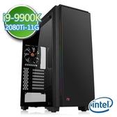 技嘉Z390平台【蒼輝裂神】i9八核 RTX2080Ti-11G獨顯 SSD 240G效能電腦