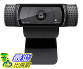 [美國代購] Logitech HD Pro Webcam C920, Widescreen Video Calling Recording, 1080p Camera, Desktop