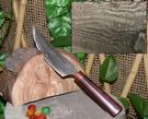 郭常喜與興達刀具--積層花紋鋼手工製作小獵刀(60109)