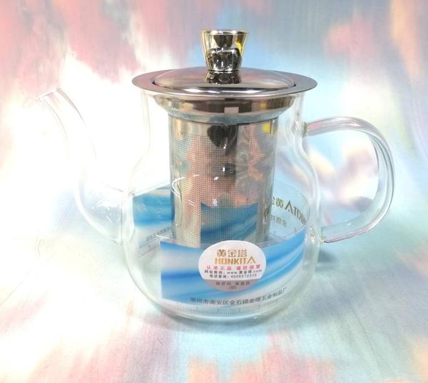 玻璃濾茶壺800ML HJ-326【001283】NO135泡茶壺 沖茶器 泡茶具 花茶杯 濾茶壺《八八八e網購