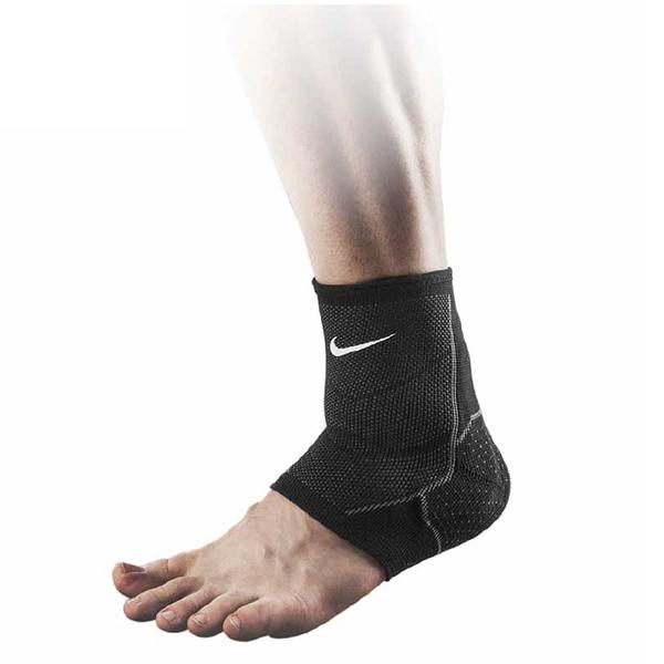Nike Knit Ankle Sleeve [NMS75031XL] 護踝 運動 訓練 防護 支撐 壓縮 黑 XL