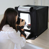 【GZ0104】40CM折疊攝影棚 專業拍照柔光箱 便攜式折疊 64顆燈珠 110v 40X40CM 攝影棚 可超取送6種背景板
