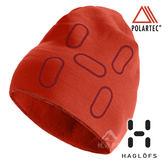 【瑞典Haglofs】FANATIC PRINT CAP 輕量 透氣刷毛帽『熾熱橙』894030 保暖帽│造型帽│毛帽 Polartec®