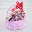 一定要幸福哦~~卡哇依喜籃+喜糖、婚禮小物、喜糖、喜籃、花瓣