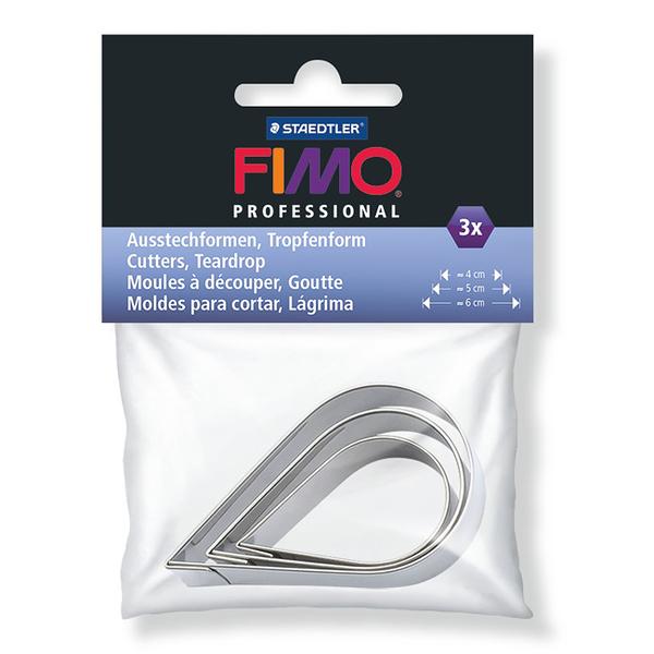 施德樓FIMO軟陶 ACCESSORIES MS8724 07PB DIY圖案壓模組-水滴