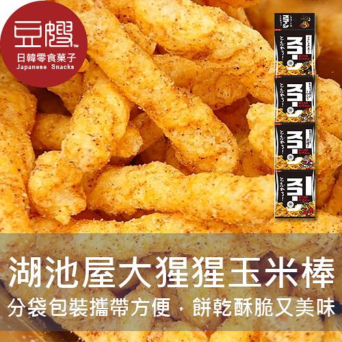 【豆嫂】日本零食 湖池屋 大猩猩餓了濃厚BBQ玉米條(四連袋)