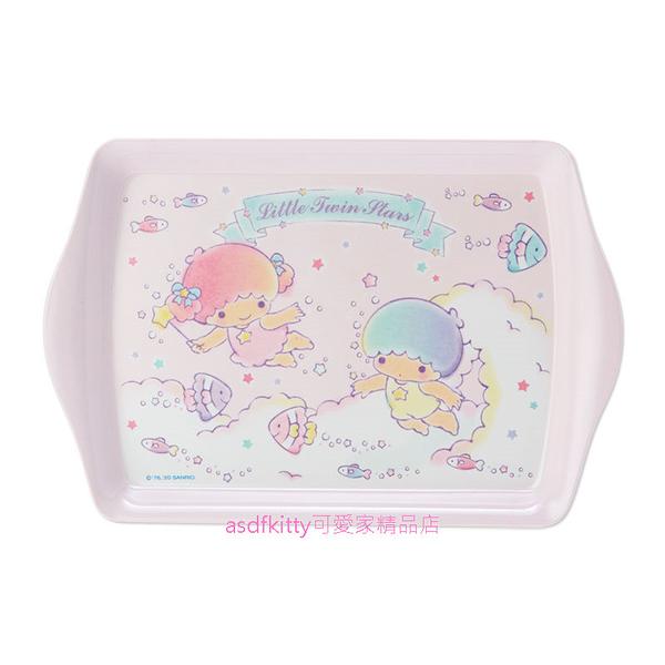 asdfkitty可愛家*雙子星熱帶魚迷你長方型置物盤/托盤/點心盤/水果盤-日本正版商品