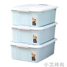禧天龍隨機色三個裝床底收納箱清新悅彩臥室宿舍整理箱工廠直銷 NMS小艾新品
