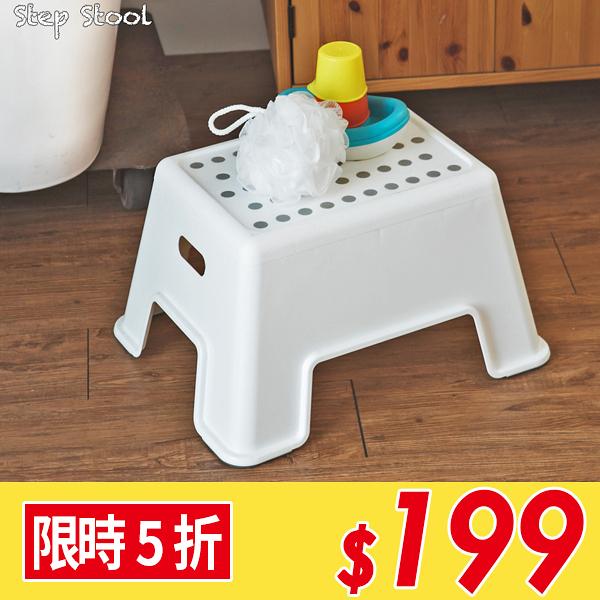 露營 浴室椅 塑膠椅 椅 椅凳【Z0063】水玉點點止滑浴室椅 完美主義