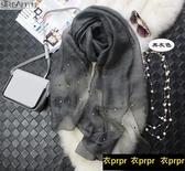 【YPRA】絲巾 桑蠶絲空調禮服披肩長款女春