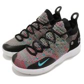 Nike Zoom KD 11 GS Multi-Colr 彩色 Kevin Durant 籃球鞋 女鞋 大童鞋【PUMP306】 AH3465-001