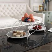 水果盤家用客廳北歐多層干果盤現代簡約水果籃【極簡生活館】