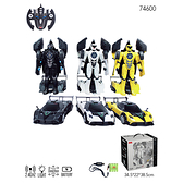 【Mariotoys瑪琍歐 兒童電動車】RASTAR Pagani 1:14 RS戰警系列-變形車transformable Zonda R (74600)-黑(三色可選)