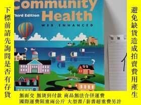 二手書博民逛書店An罕見Introduction To Community Health: Web EnhancedY1533