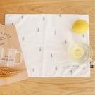 [拉拉百貨]Zakka 簡約 雜貨風 鄉村風 日韓 隔熱墊 餐墊 桌巾 棉麻餐墊 森林款賣場 B00076-2