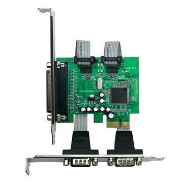 [哈GAME族]免運 可刷卡 伽利略 PCI-E 2 PORT RS232 + 1 PORT Print 擴充卡 PETRP02A