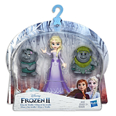 《 Disney 迪士尼 》Hasbro 冰雪奇緣2 迷你公主與陪伴配件組 - 艾莎 / JOYBUS玩具百貨