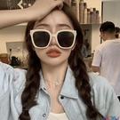 太陽眼鏡 復古新款kuku同款奶白色墨鏡方形大框情侶街拍太陽眼鏡顯瘦寶貝計畫 上新