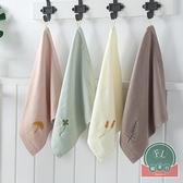 毛巾方巾純棉洗臉家用可愛速干兒童手帕吸水【福喜行】