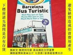 二手書博民逛書店Barcelona罕見bus turistic巴塞羅那導遊圖Y2