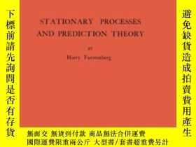 二手書博民逛書店Stationary罕見Processes And Prediction TheoryY256260 Harr
