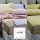 《 60支紗》雙人加大床包枕套三件式【波隆那B款 - 共3款】-麗塔LITA -