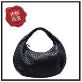 BV和尚彎月包PM黑色232499二手商品