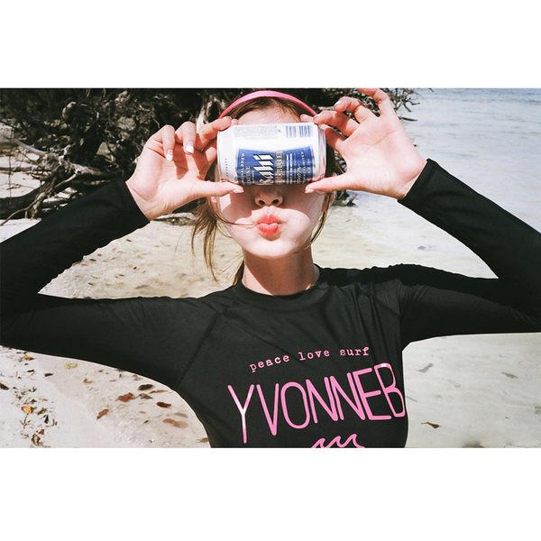 Melek 比基尼 (共1色) 現貨【A01160617-11】女泳裝上黑長下黑3角 泳裝/比基尼/潛水裝
