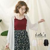 LULUS-A細紋開襟罩衫-3色  現+預【03110480】