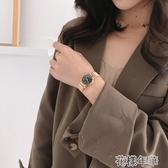 冷淡簡約風復古文藝韓版森繫手錶女學生潮流鋼帶手鍊式石英錶女錶 花樣年華 花樣年華